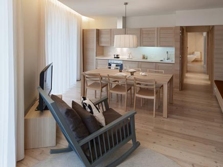 Modernes Badezimmer Edel Weiss Residenz