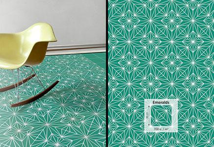 Mosaikfliesen von Anne Dérian