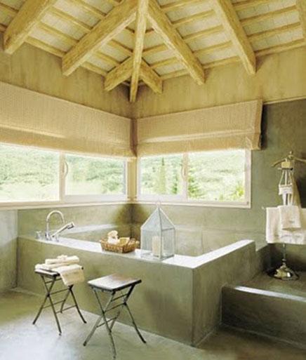 Natürliche Badezimmer ideen