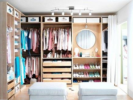 Oak IKEA Begehbarer Kleiderschrank