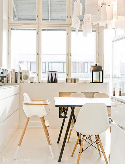 offene k che mit niedrigen schr nke wohnideen einrichten. Black Bedroom Furniture Sets. Home Design Ideas