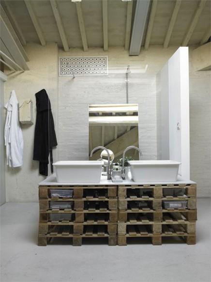 Offenes Badezimmer im Dachgeschoss | Wohnideen einrichten