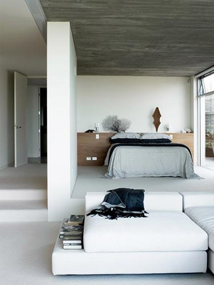 Öffnen enge Schlafzimmer