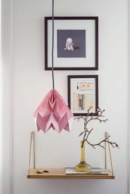origami-lampen