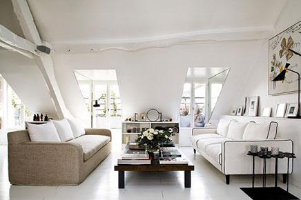parisien haus mit einem vintage innenraum wohnideen einrichten. Black Bedroom Furniture Sets. Home Design Ideas
