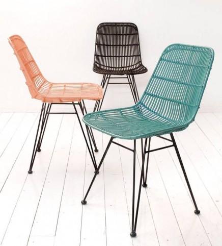 rattanstuhl wohnideen einrichten. Black Bedroom Furniture Sets. Home Design Ideas