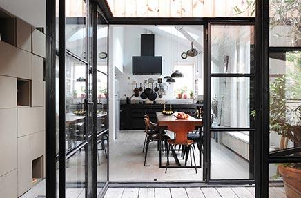 Raumgestaltung von alten Fabrik in Paris