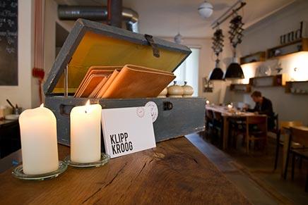 Raumgestaltung Frühstück und Mittagessen Restaurant Klippkroog