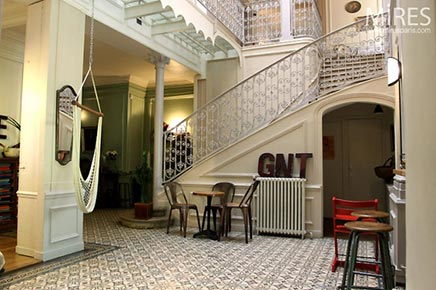 Raumgestaltung Herrenhaus in Paris