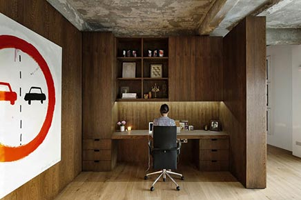 Raumgestaltung Industrielle Loft in London