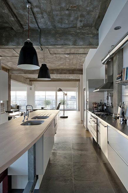 Raumgestaltung Industrielle Loft in London
