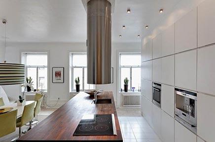 Raumgestaltung im Obergeschoss Wohnung in Stockholm