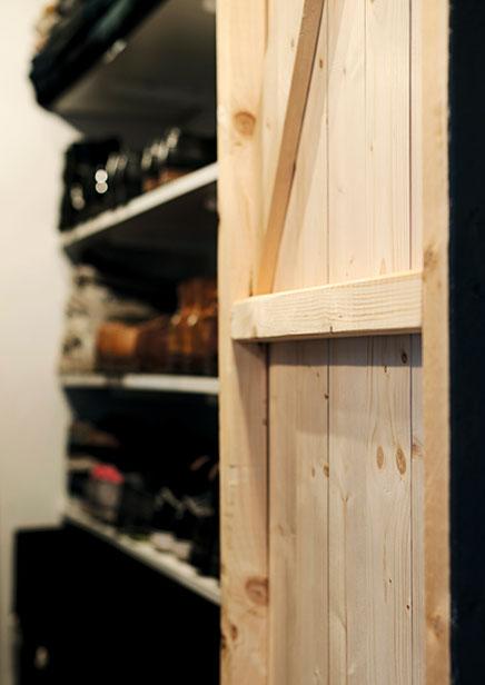 Robustes begehbaren Kleiderschrank in der Halle