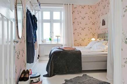rosa-blumentapete-schlafzimmer (2)
