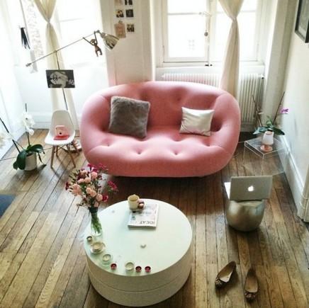 15x rosa sofa wohnideen einrichten. Black Bedroom Furniture Sets. Home Design Ideas
