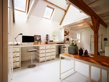 Rustic harten Home-Office | Wohnideen einrichten