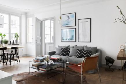 scandinavian-vintage-wohnzimmer