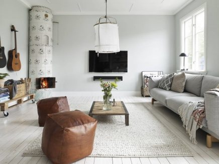 Scandinavian Warmen Wohnzimmer Wohnideen Einrichten