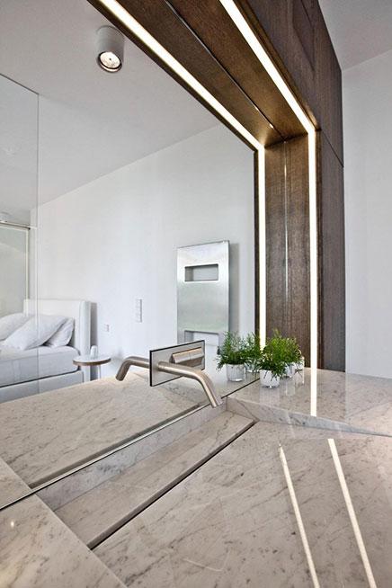 Schlafzimmer Atmosphäre von eines Design-Hotel