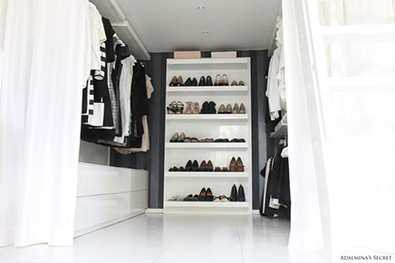 schlafzimmer auf begehbaren kleiderschrank wohnideen einrichten. Black Bedroom Furniture Sets. Home Design Ideas