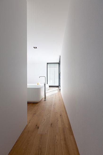 Schlafzimmer Badezimmer Kombination Modernen Wohnung 2