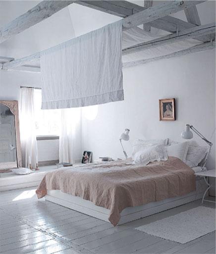 Schlafzimmer im Dachgeschoss in Kopenhagen | Wohnideen einrichten