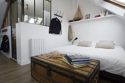 Schlafzimmer im dachgeschoss masion le matelot wohnideen einrichten for Slaapkamer op de zolderfotos