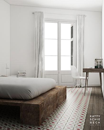 Schlafzimmer Dekor Mit Recyceltem Holz