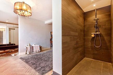 Schlafzimmer Maisonette-Wohnung mit luxuriöser Ausstattung