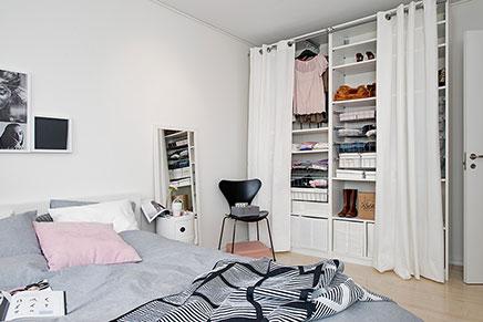 Schlafzimmer mit begehbarer Kleiderschrank | Wohnideen ...