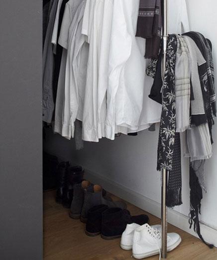 Schlafzimmer der Stylist Wolfgang Neugebauwer