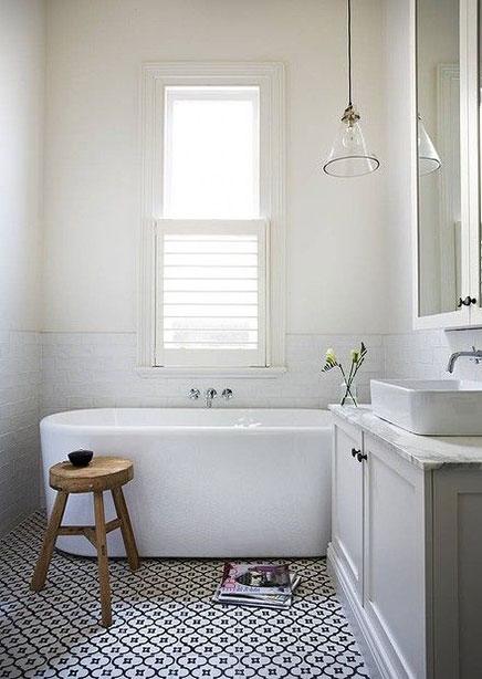 Schöne Badezimmer Innenarchitektin Terri Shannon