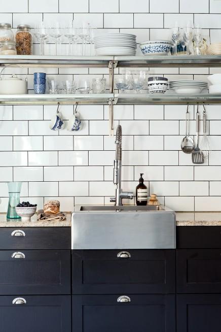 sch ne k che in schweden wohnideen einrichten. Black Bedroom Furniture Sets. Home Design Ideas