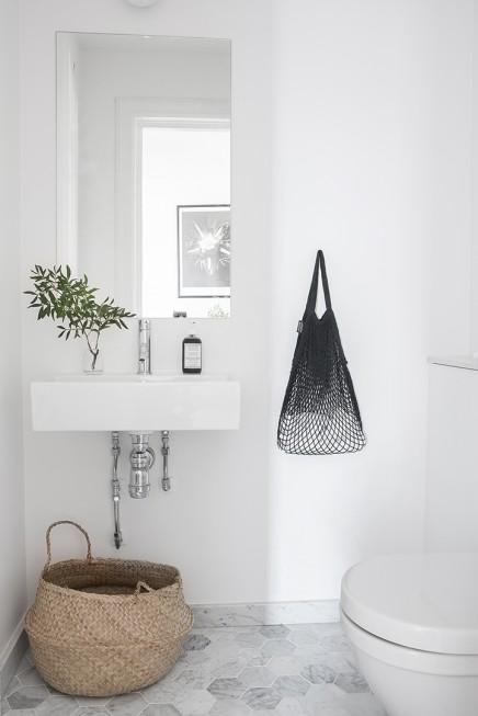 Schone Skandinavischen Badezimmer 5m2 (1)