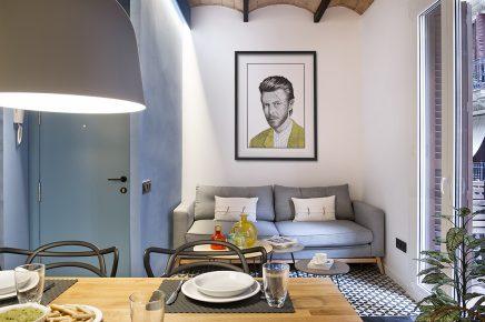 Und Das Innere Der Wohnung Basiert. Mit Den Innenarchitekten Architekten  Egue Y Set, Haben Sie Ihre Wohnung Mit Einem Super Netten Strandthema  Wieder ...