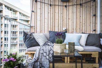 Schoner Dreieckiger Balkon Wohnideen Einrichten