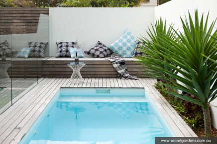Schöner Garten mit Terrasse und Pool | Wohnideen einrichten
