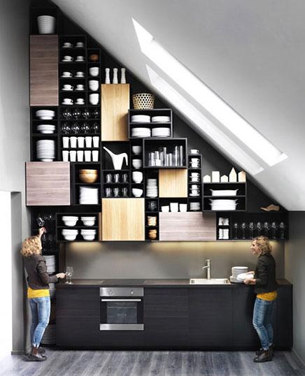 Schönes Beispiel für die IKEA Methode Küche