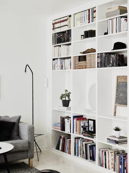 sch nes wohnzimmer einer kleinen wohnung von 62m2. Black Bedroom Furniture Sets. Home Design Ideas