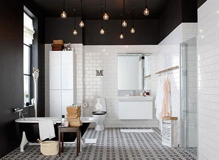schwarze decke wohnideen einrichten. Black Bedroom Furniture Sets. Home Design Ideas