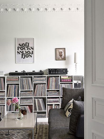 Schwedisch weiße Wohnzimmer  Wohnideen einrichten