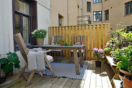 Schwedisch Terrasse Balkon