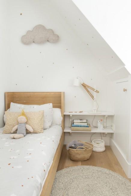 Serene neutral kinderzimmer von lieve wohnideen einrichten - Kinderzimmer neutral ...