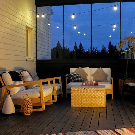 skandinavische wintergarten wohnideen einrichten. Black Bedroom Furniture Sets. Home Design Ideas