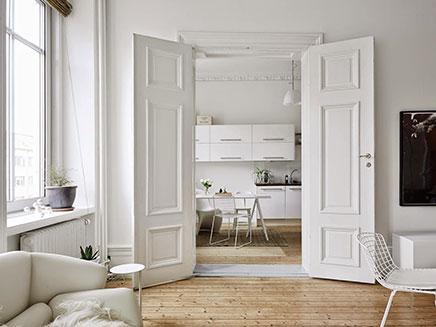 skandinavische wohnzimmer mit authentischen neue details. Black Bedroom Furniture Sets. Home Design Ideas