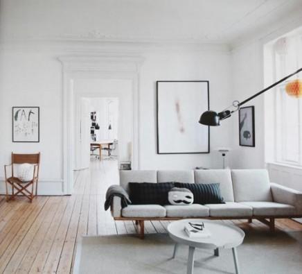 Skandinavische wohnzimmer von Tanja Vibe