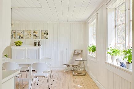 Skandinavischen Land Sommerhaus