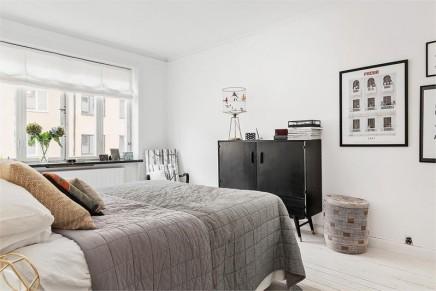 Schlafzimmer Skandinavisch Einrichten: Ein Zimmer Wohnung ... Schlafzimmer Skandinavisch
