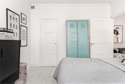 scandinavian schlafzimmer mit industrieschränke | wohnideen einrichten - Wohnideen Schlafzimmer Skandinavisch