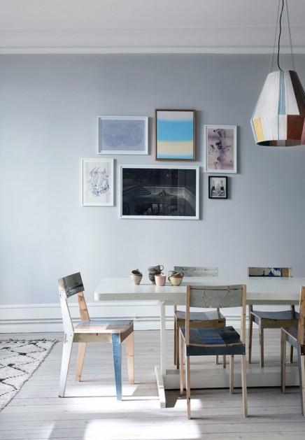 Scandinavian wohnung eines anwalts mit einer leidenschaft for Wohnung design magazin